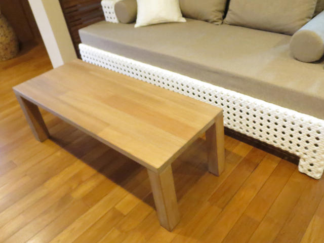 チークダイニングテーブルS